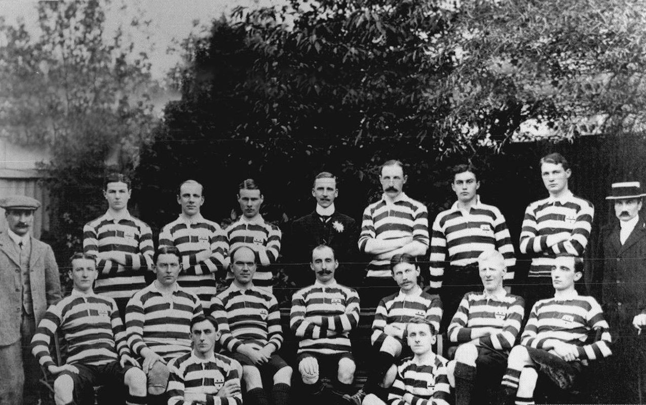 Worcester Rugby Football Club First XV - 1890's