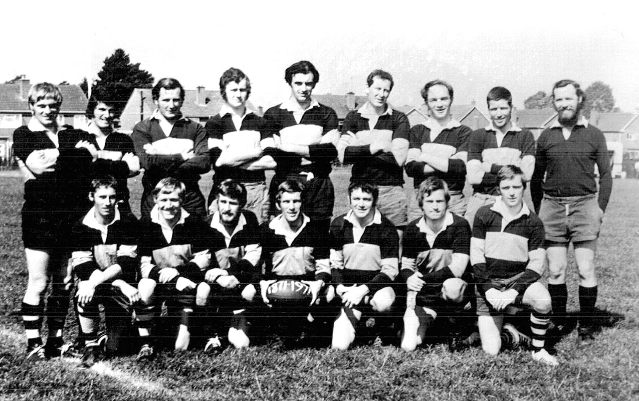 Worcester Rugby Football Club First XV - 1971