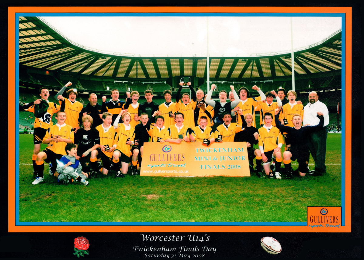 Worcester Rugby Football Club 1871 - 2021
