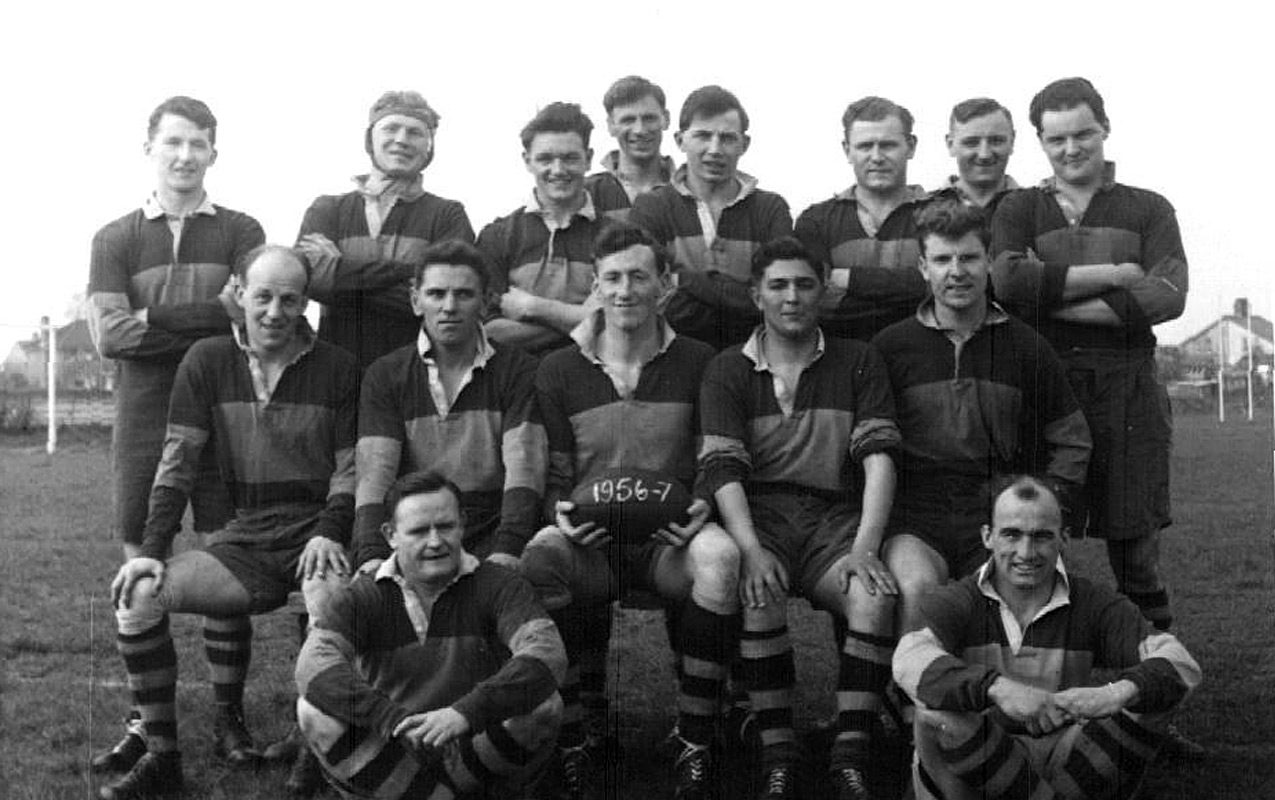 Worcester Rugby Football Club First XV - 1956/57